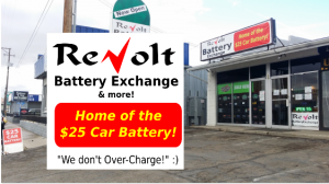 ReVolt Used Car Battery Charger Reconditioning Recycling